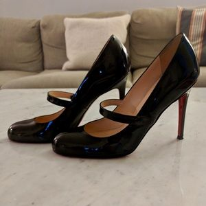 Christian Louboutin Charleen Patent Leather Pumps